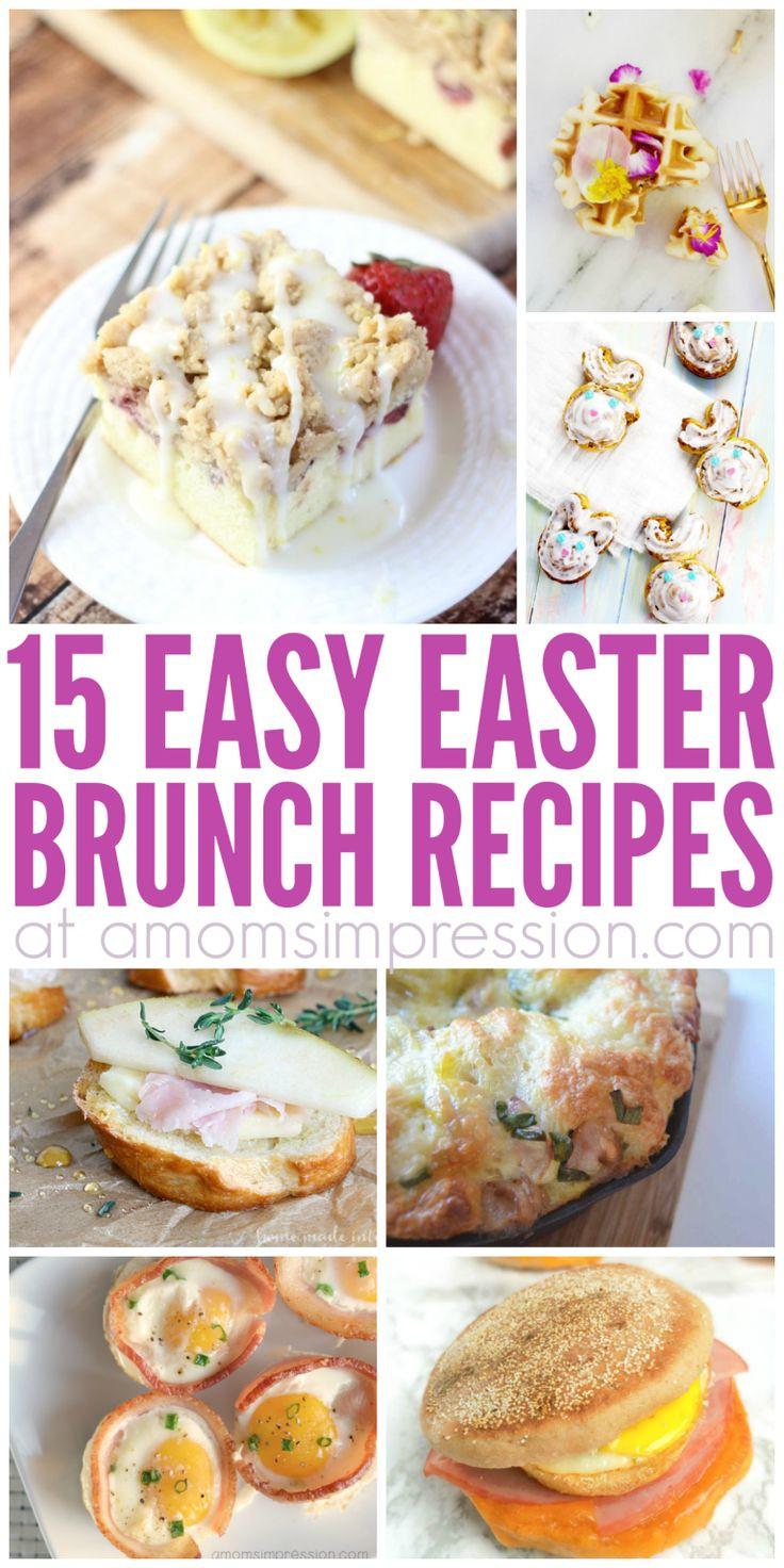 Easter Breakfast Recipes  17 Best ideas about Easter Brunch on Pinterest