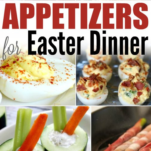 Easter Brunch Appetizers  Easy Appetizers for Easter Dinner e Crazy Mom