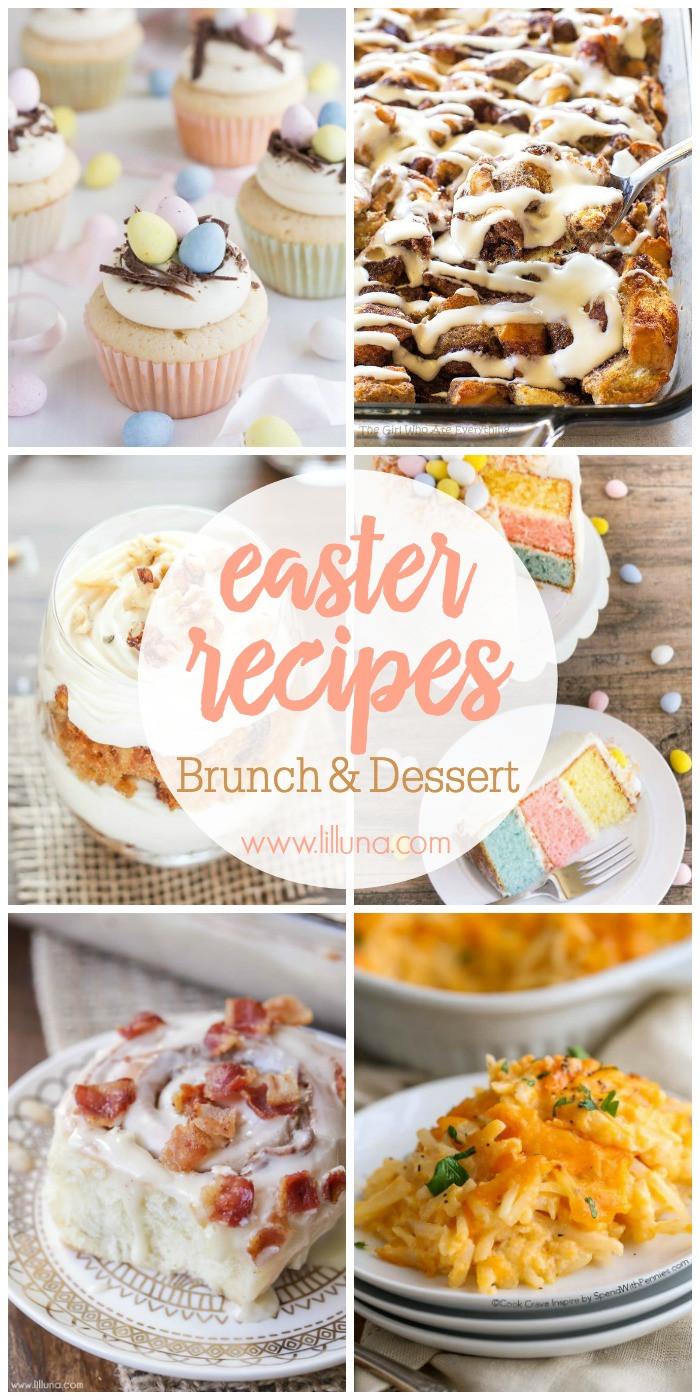 Easter Brunch Desserts  30 Easter Recipes Brunch & Dessert Lil Luna