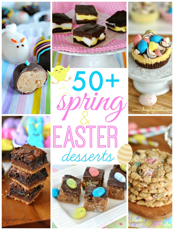 Easter Brunch Desserts  50 Easter Desserts Shugary Sweets