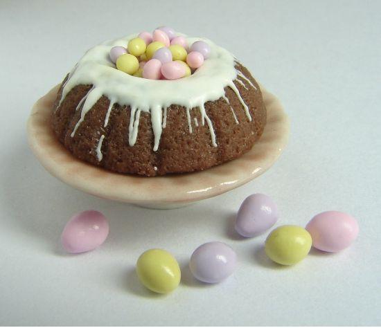 Easter Bundt Cake  Easter Bundt Cake with eggs JPG 2 ments