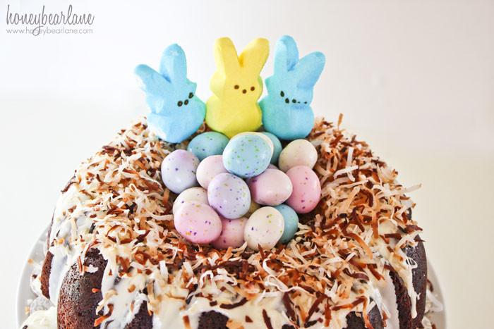 Easter Bundt Cake  Easter Chocolate Bundt Cake