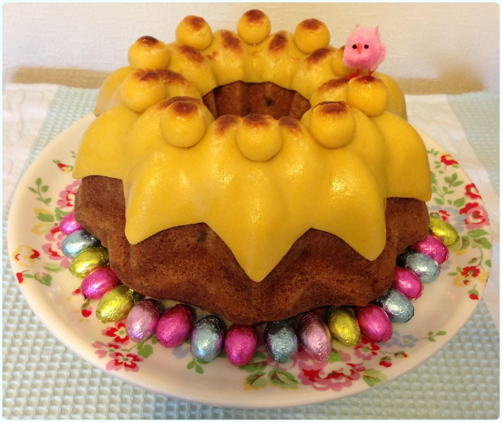 Easter Bundt Cake  Easter Simnel Bundt Cake