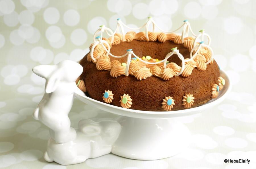 Easter Bundt Cake  Easter Bundt Cake cake by Sweet Dreams by Heba CakesDecor