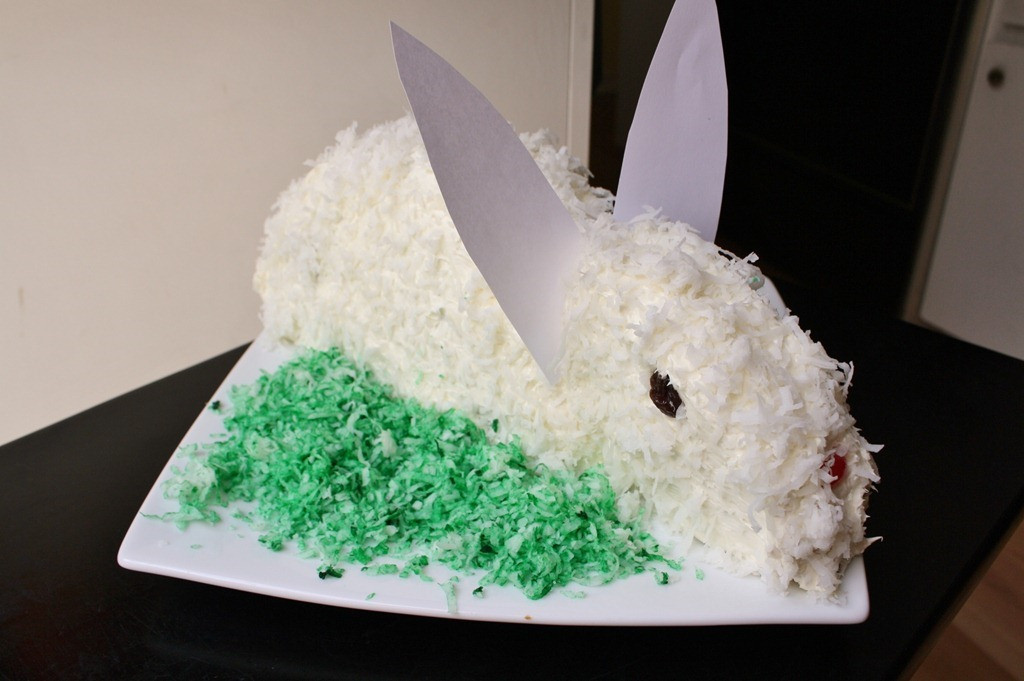 Easter Bunny Cake Recipe  How to Make a Bunny Cake and Running in Orange County