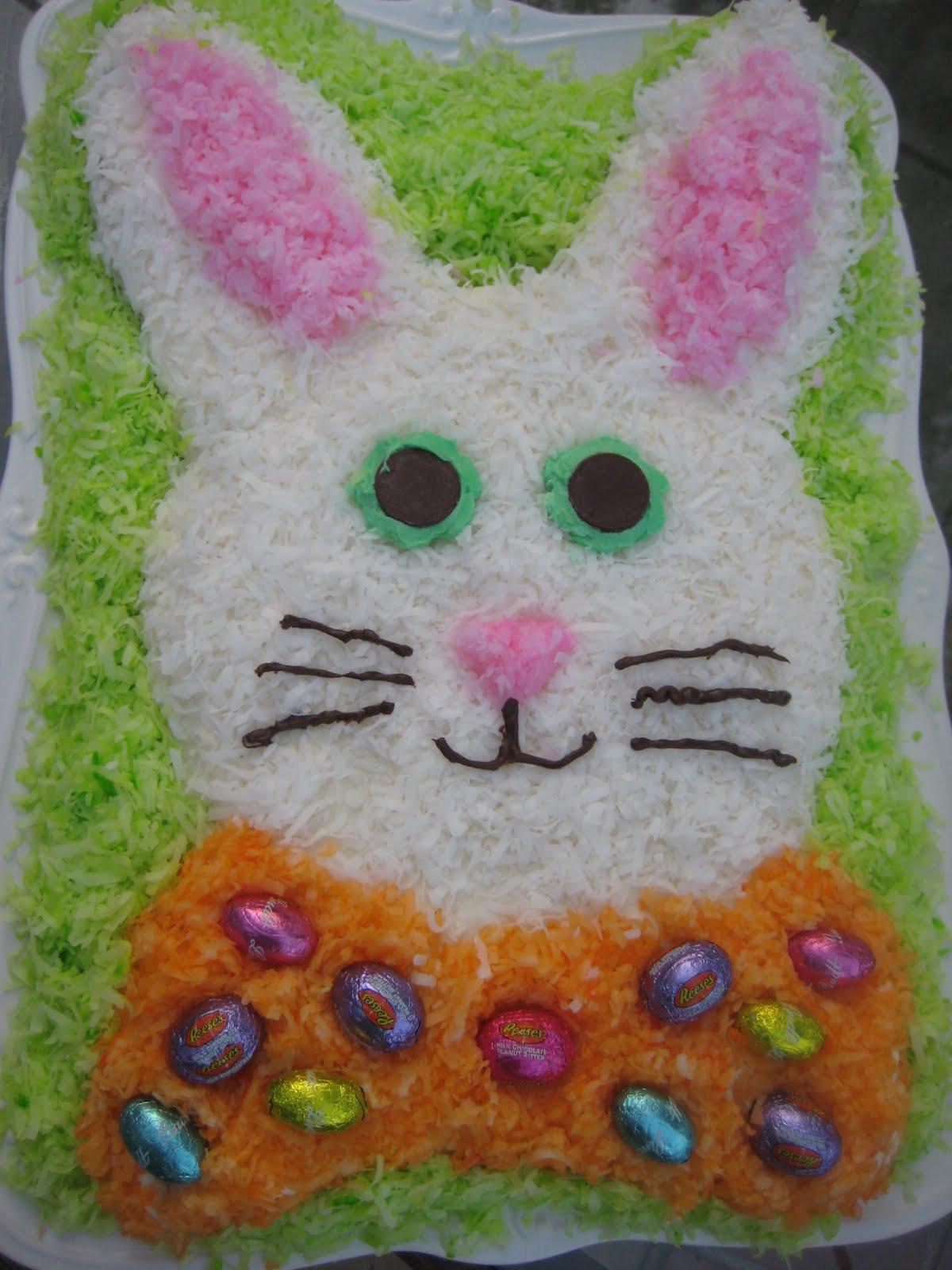 Easter Bunny Cake Recipe  Easter Bunny Cake Recipe