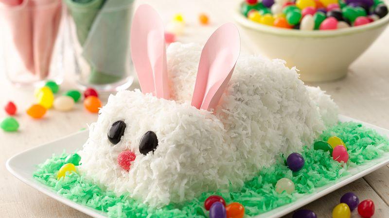 Easter Bunny Cake Recipe  Easter Bunny Cake Recipe BettyCrocker