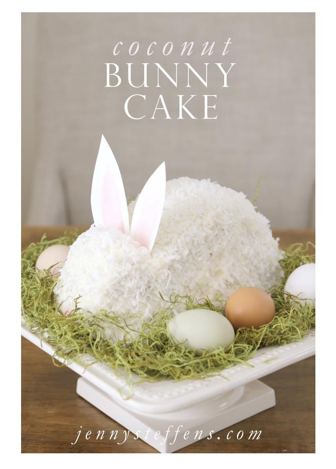 Easter Bunny Cake Recipe  Jenny Steffens Hobick Easter Bunny Cake