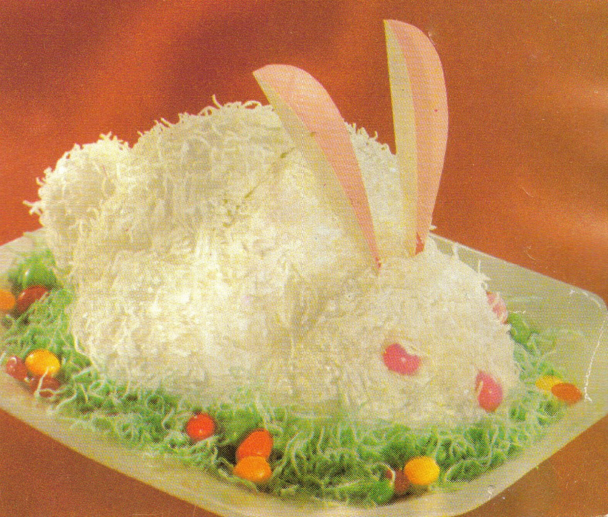 Easter Bunny Cake Recipe  At Home n About Easter Bunny Cake