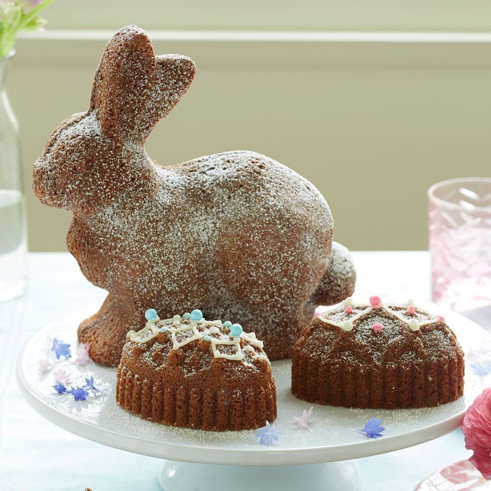 Easter Bunny Cake Recipe  How to Make Easter Bunny Cakes