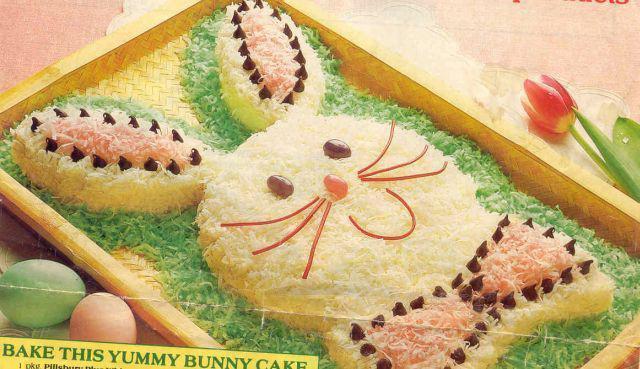 Easter Bunny Cake Recipe  Lady Gaga Illuminati easter bunny cake recipe
