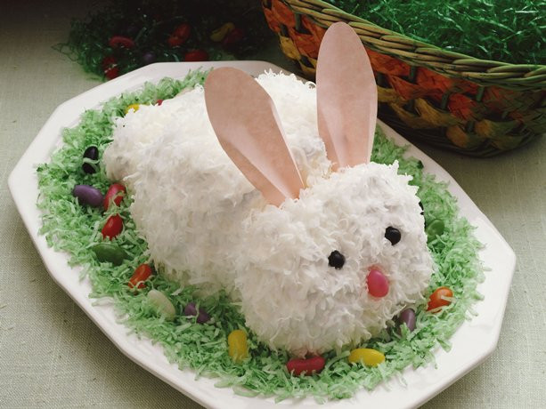 Easter Bunny Cake Recipe  Munch ado About Nothing 22 Easy Easter Desserts