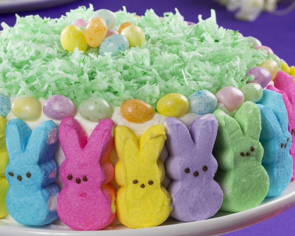 Easter Bunny Cake Recipe  Hoppy Easter Bunny Cake