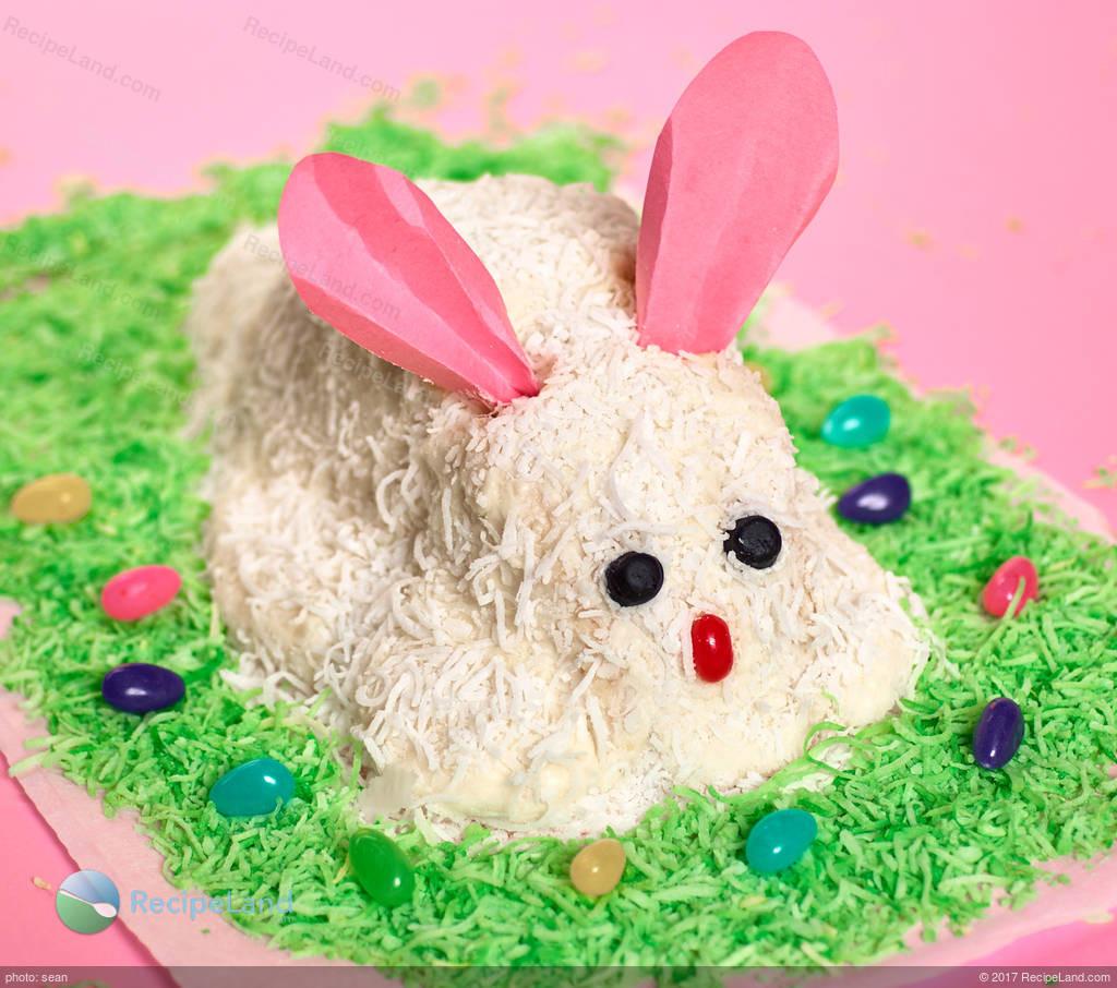 Easter Bunny Cake Recipe  White Easter Bunny Cake Recipe