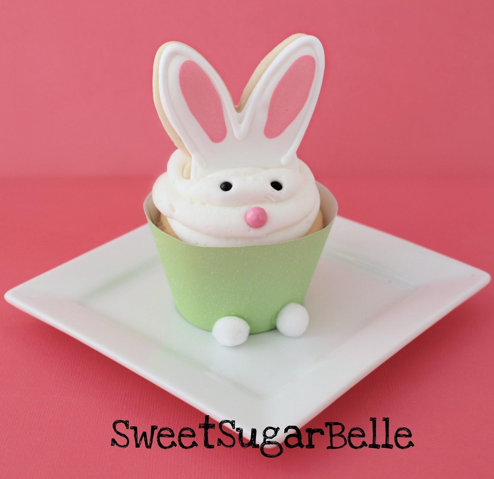 Easter Bunny Cupcakes  Nanaimo Fairy Cakes Bunny Ear Cookie Cupcake