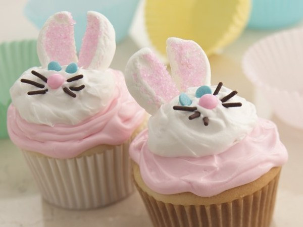 Easter Bunny Cupcakes  Easter Cupcake Ideas