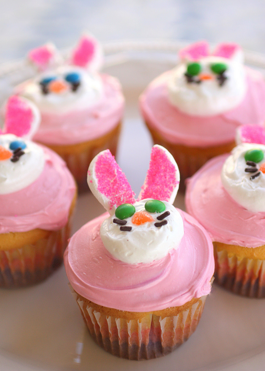 Easter Bunny Cupcakes  Keepin Up With Kelsey Because He Lives We Too Shall