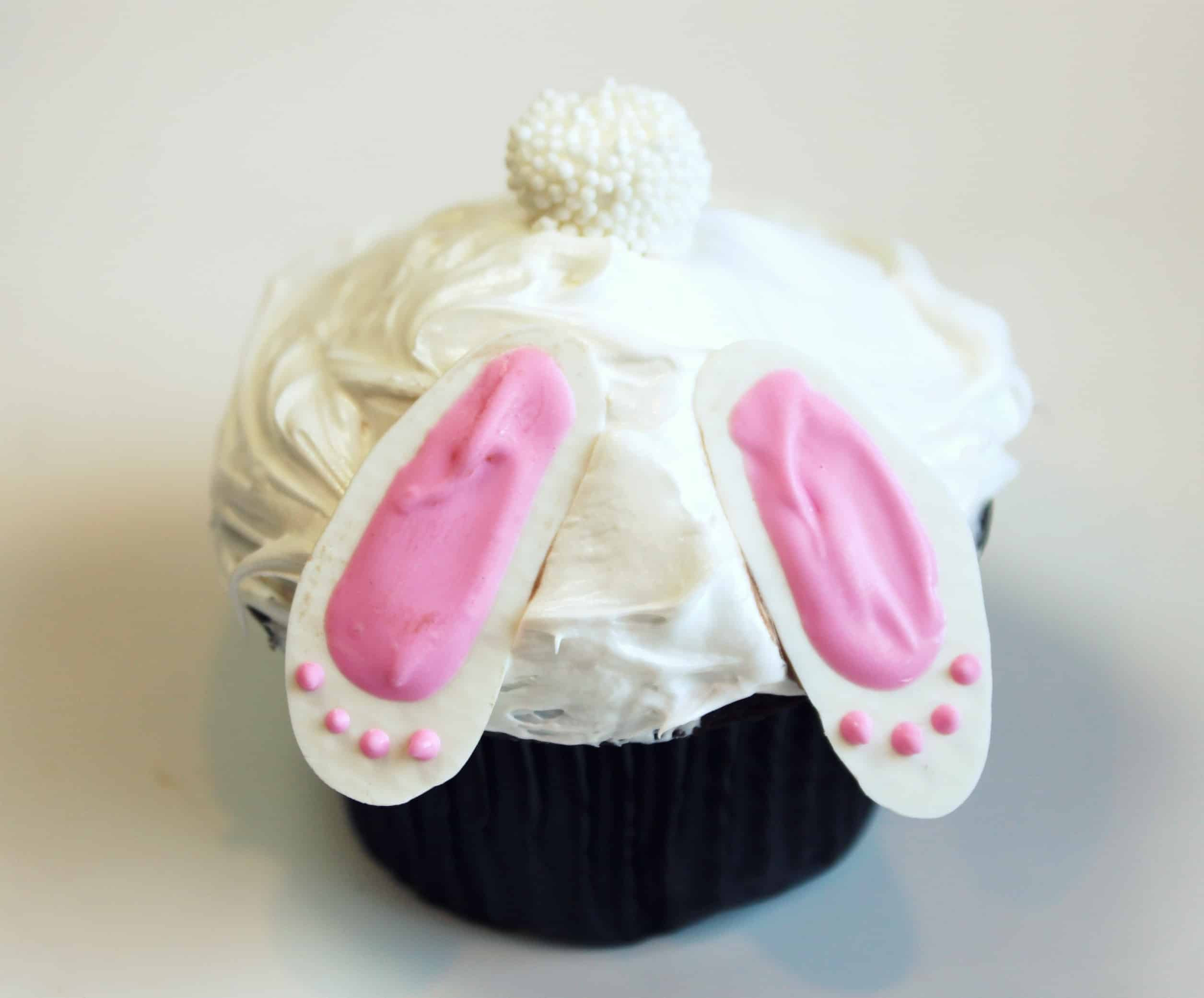 Easter Bunny Cupcakes  Bunny Butt Cupcakes