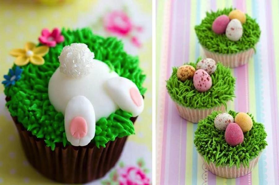 Easter Bunny Cupcakes  Adorable Easter Cupcake Ideas