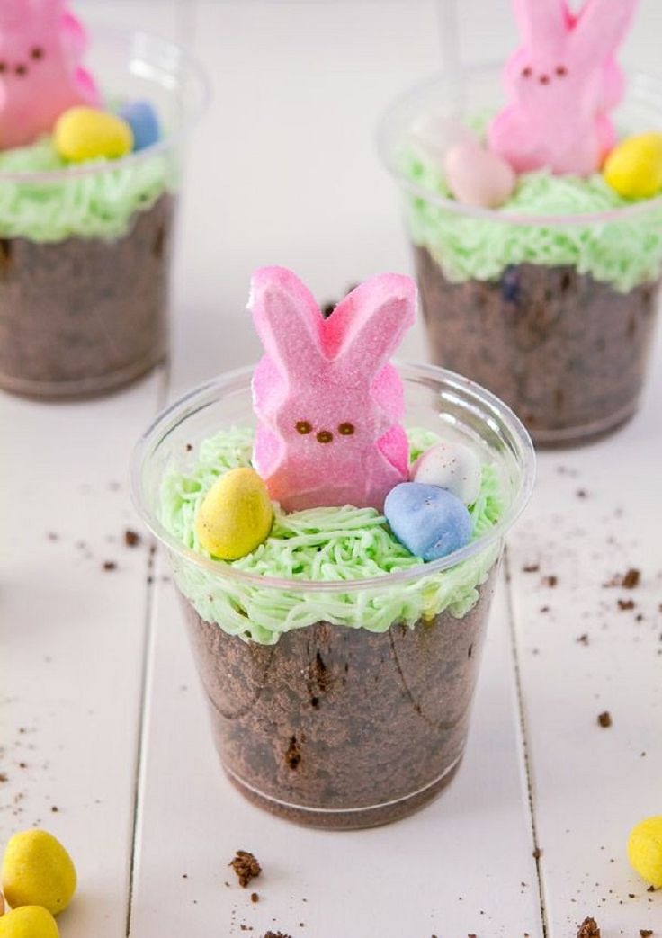 Easter Bunny Desserts  276 best images about Easter on Pinterest