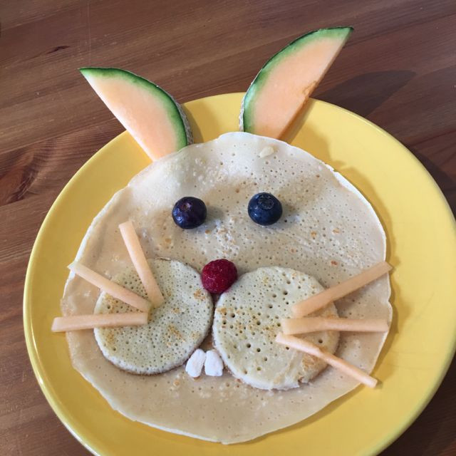 Easter Bunny Pancakes  Easy Easter Recipe Easter Bunny Pancakes