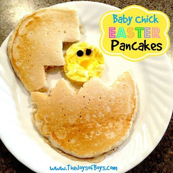 Easter Bunny Pancakes  Easter Morning Breakfast Bunny Pancakes and More