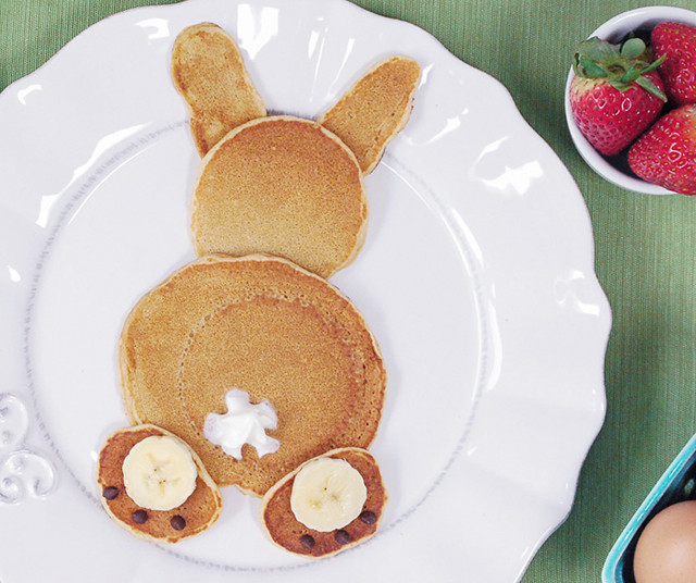 Easter Bunny Pancakes  The Cutest Bunny Pancakes for Easter or Everyday