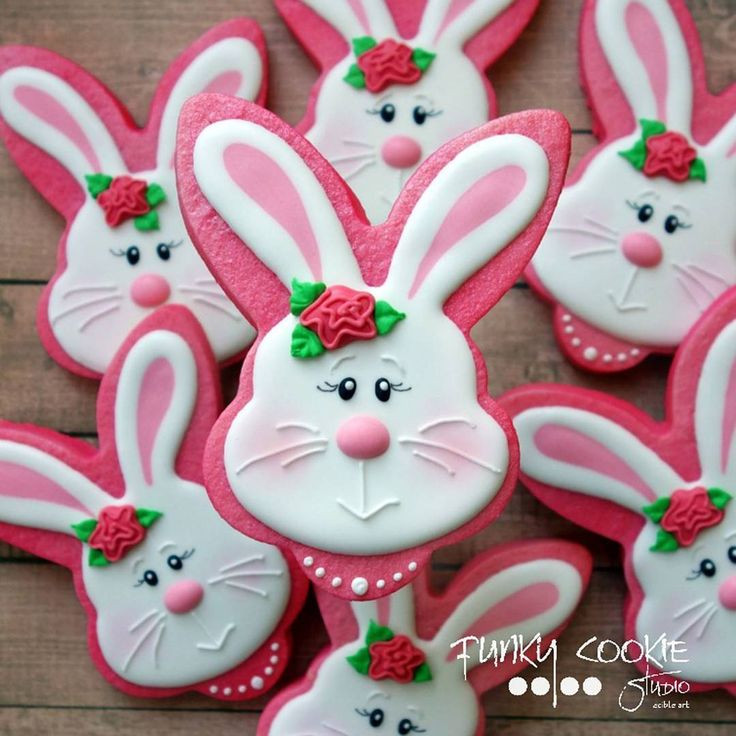 Easter Bunny Sugar Cookies  17 Best images about Bunny Decorated Cookies And cake pops