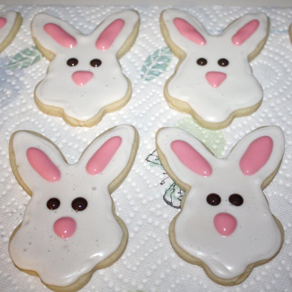 Easter Bunny Sugar Cookies  Amy Cornwell Designs Create Easter Cookies