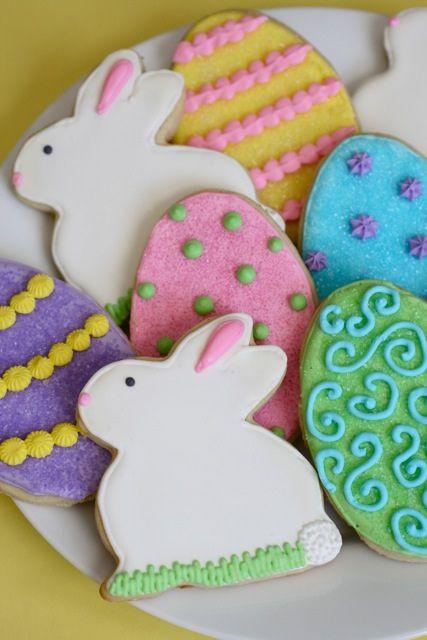 Easter Bunny Sugar Cookies  Sugar Cookies Revisited