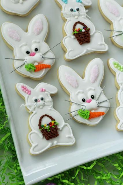 Easter Bunny Sugar Cookies  Worth Pinning Easter Bunny Sugar Cookies