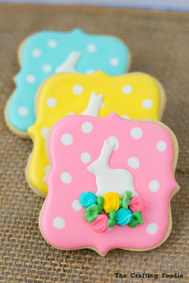 Easter Bunny Sugar Cookies  Bunny Easter Sugar Cookies
