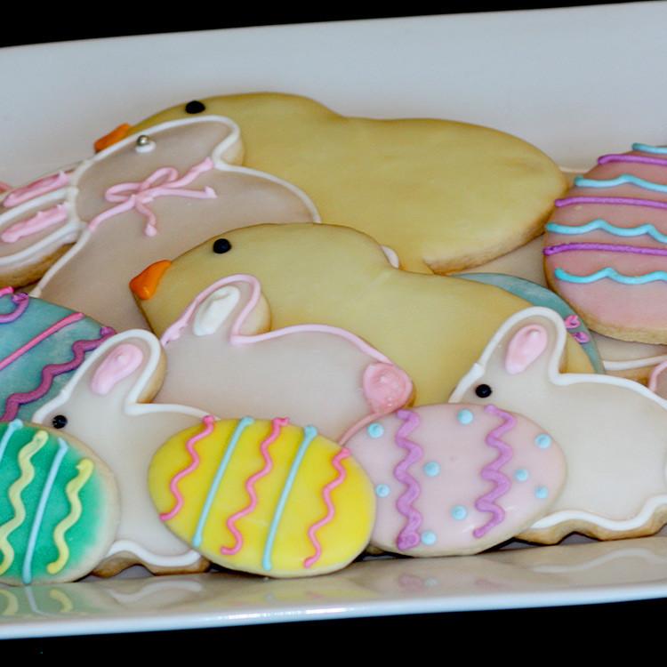 Easter Bunny Sugar Cookies  Easter Holiday Specials Sweet Memories Bakery