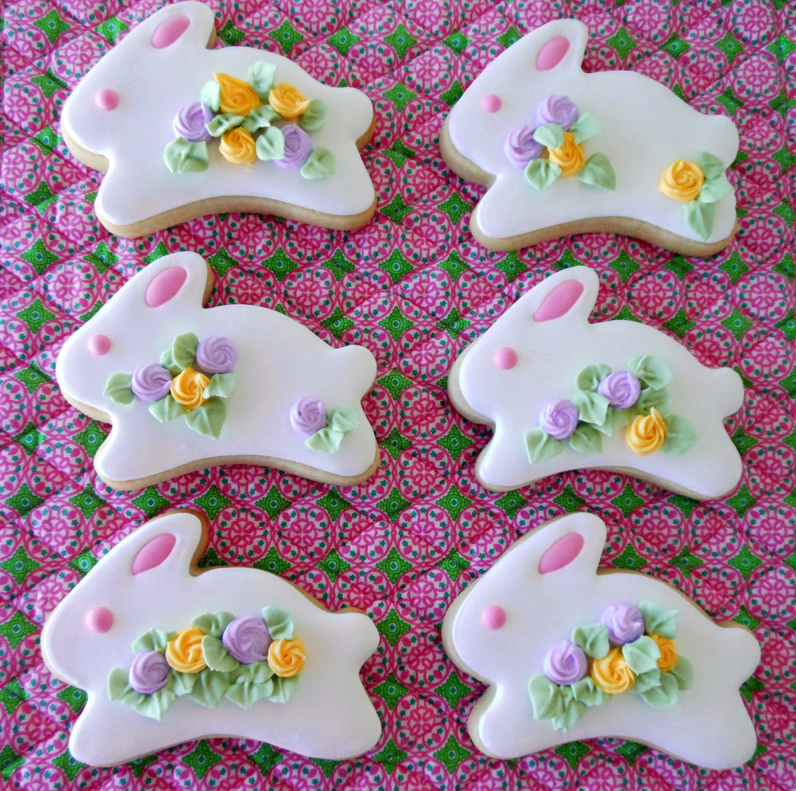 Easter Bunny Sugar Cookies  My Cookie Clinic BUNNY COOKIES Do I See Chocolate