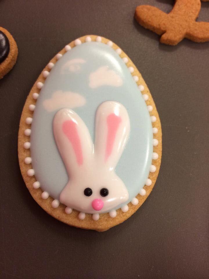 Easter Bunny Sugar Cookies  Rabbit cookie COOKIE CRAZE Pinterest