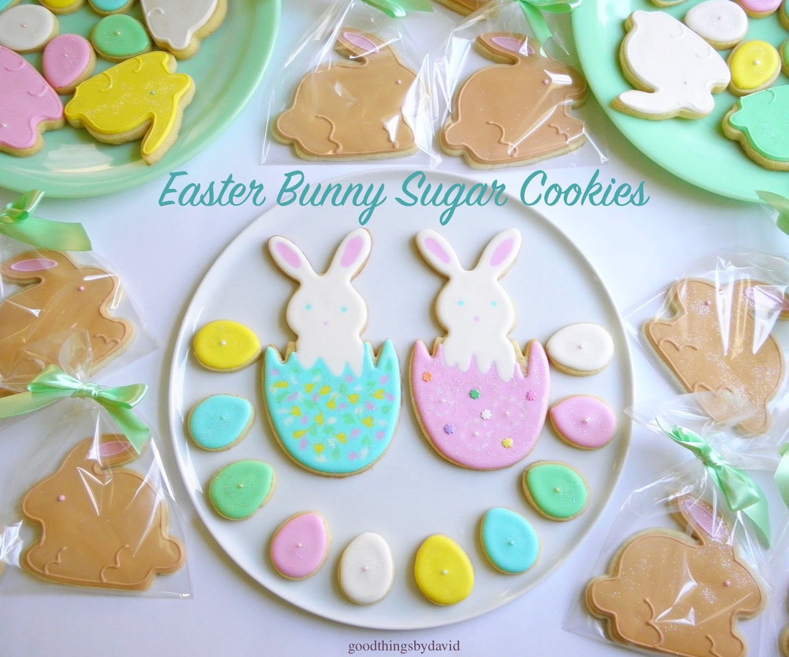 Easter Bunny Sugar Cookies  Good Things by David Easter Bunny Sugar Cookies
