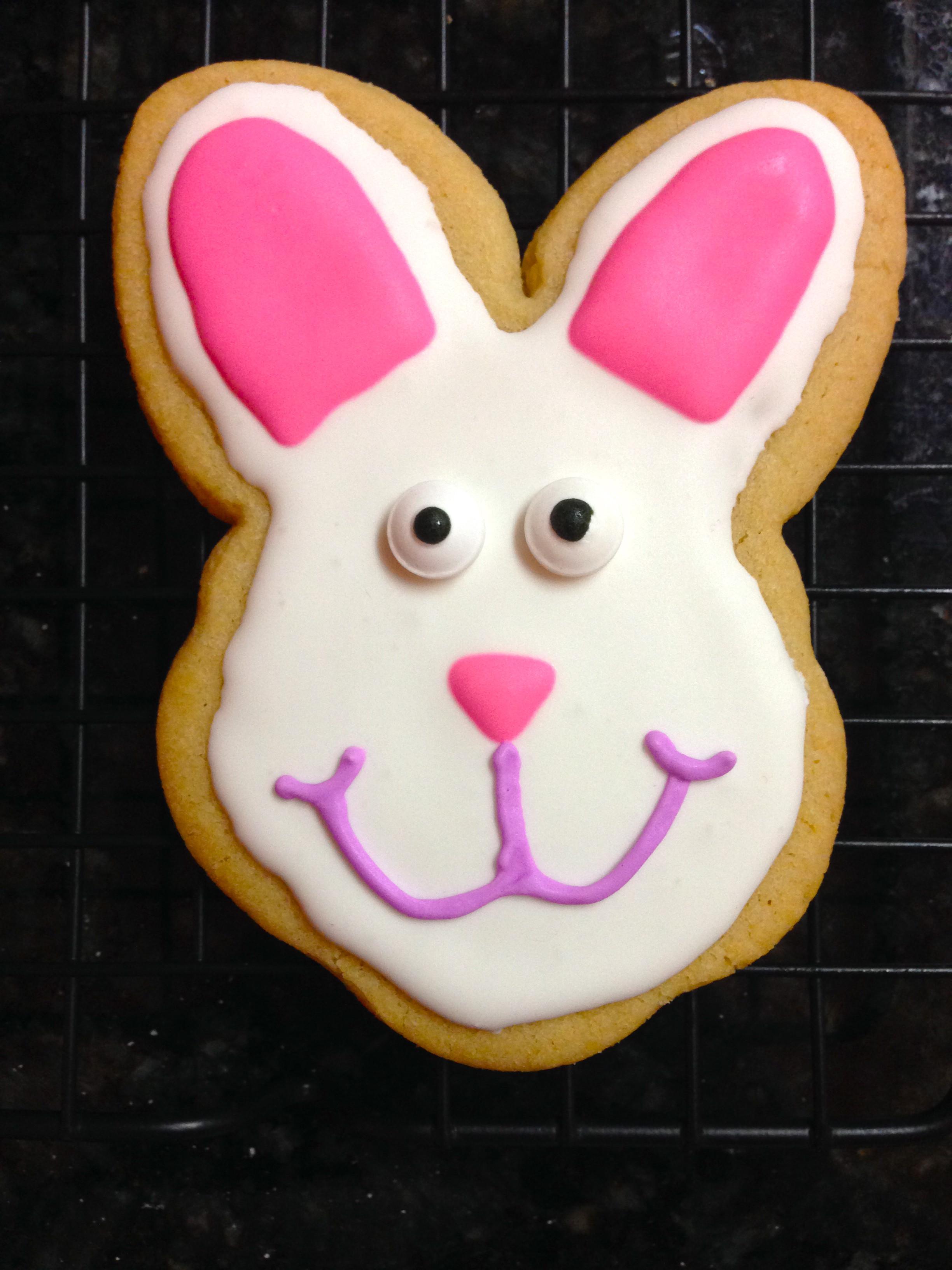 Easter Bunny Sugar Cookies  Sugar Cookie Decorating