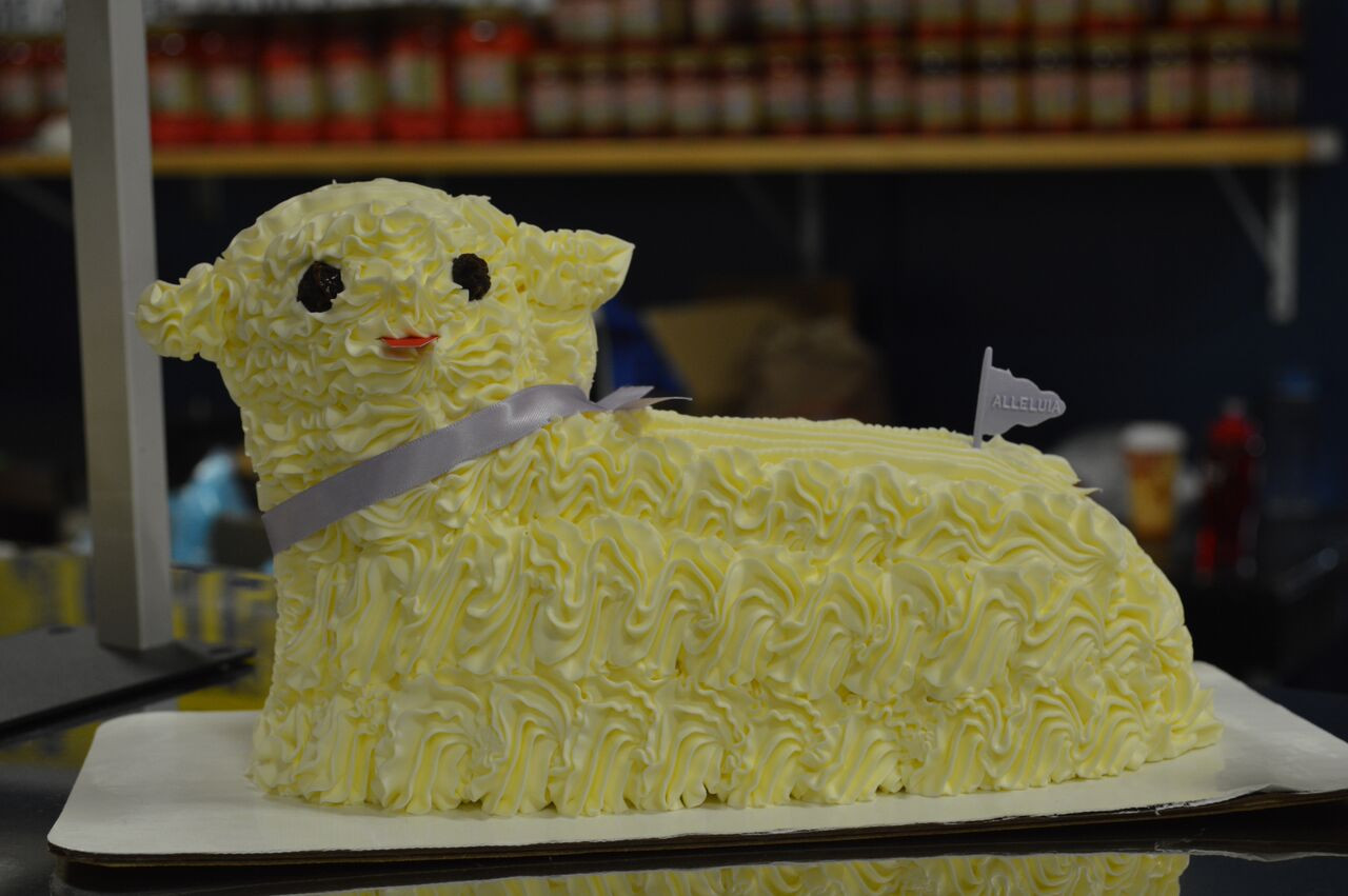 Easter Butter Lamb  7 Delicious Items for Your Broadway Market Shopping List