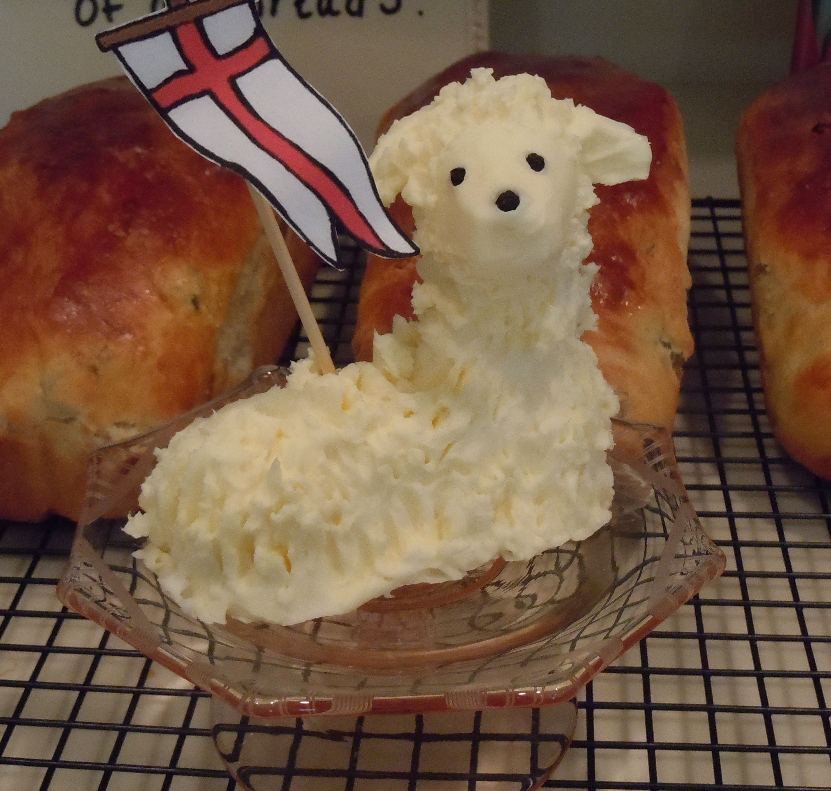 Easter Butter Lamb  Butter lamb DIY and Crafty Ideas I love
