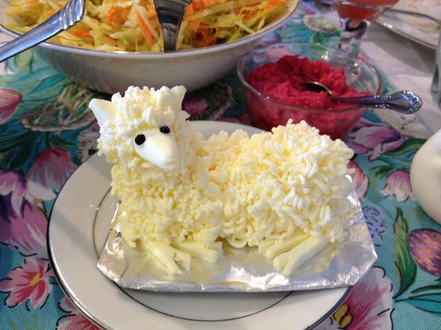 Easter Butter Lamb  butter lamb