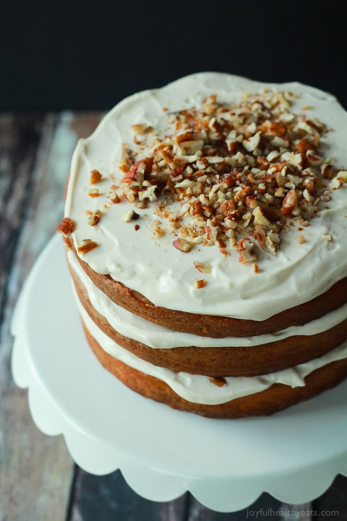 Easter Cake Recipes  Healthier Hummingbird Cake with Cream Cheese Frosting