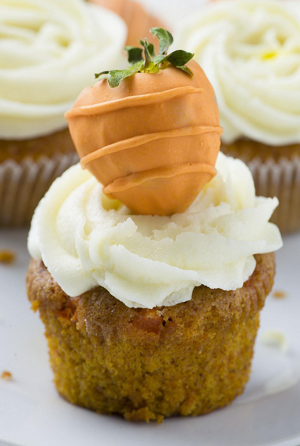 Easter Carrot Cake Cupcakes  Carrot Cake Cupcakes OMG Chocolate Desserts