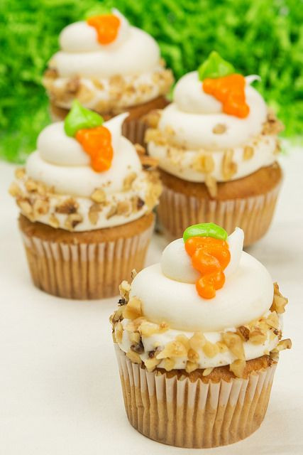 Easter Carrot Cake Cupcakes  116 best images about Easter Party Ideas on Pinterest