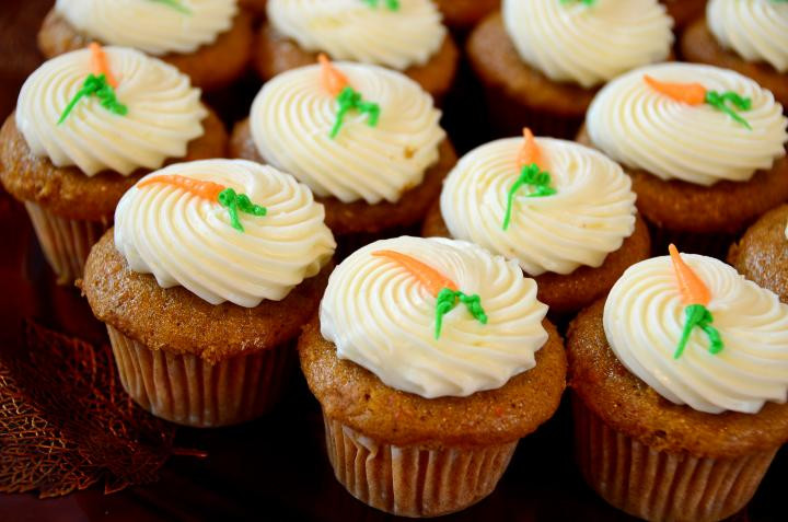 Easter Carrot Cake Cupcakes  Our Best Easter Recipes Dinner Dessert and Brunch Ideas