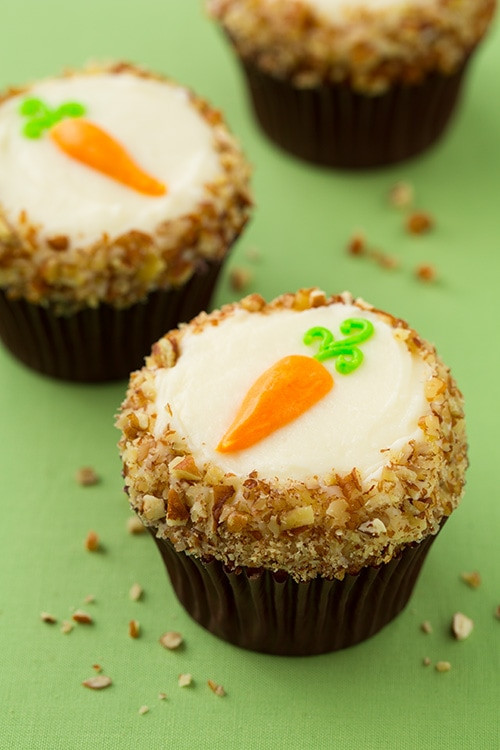 Easter Carrot Cake Cupcakes  Carrot Cake Cupcakes with Cream Cheese Frosting Cooking