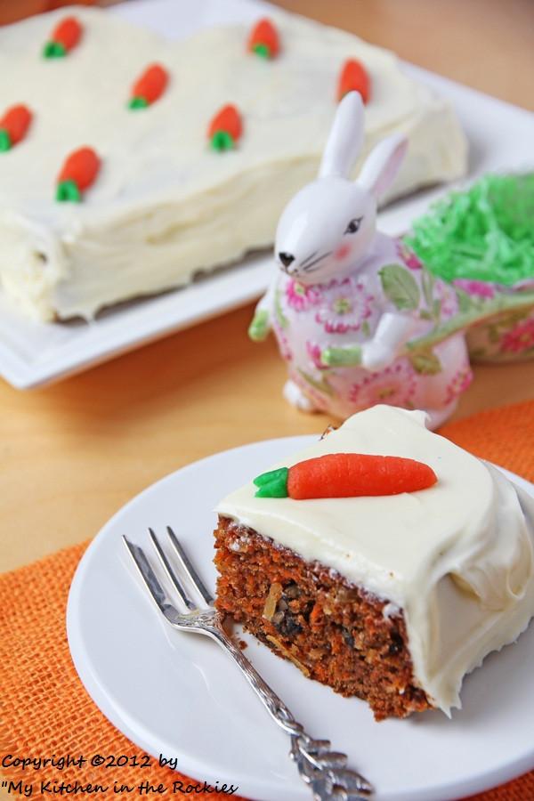 Easter Carrot Cake  Carrot Cake Colorado Denver Foodblog German recipes My