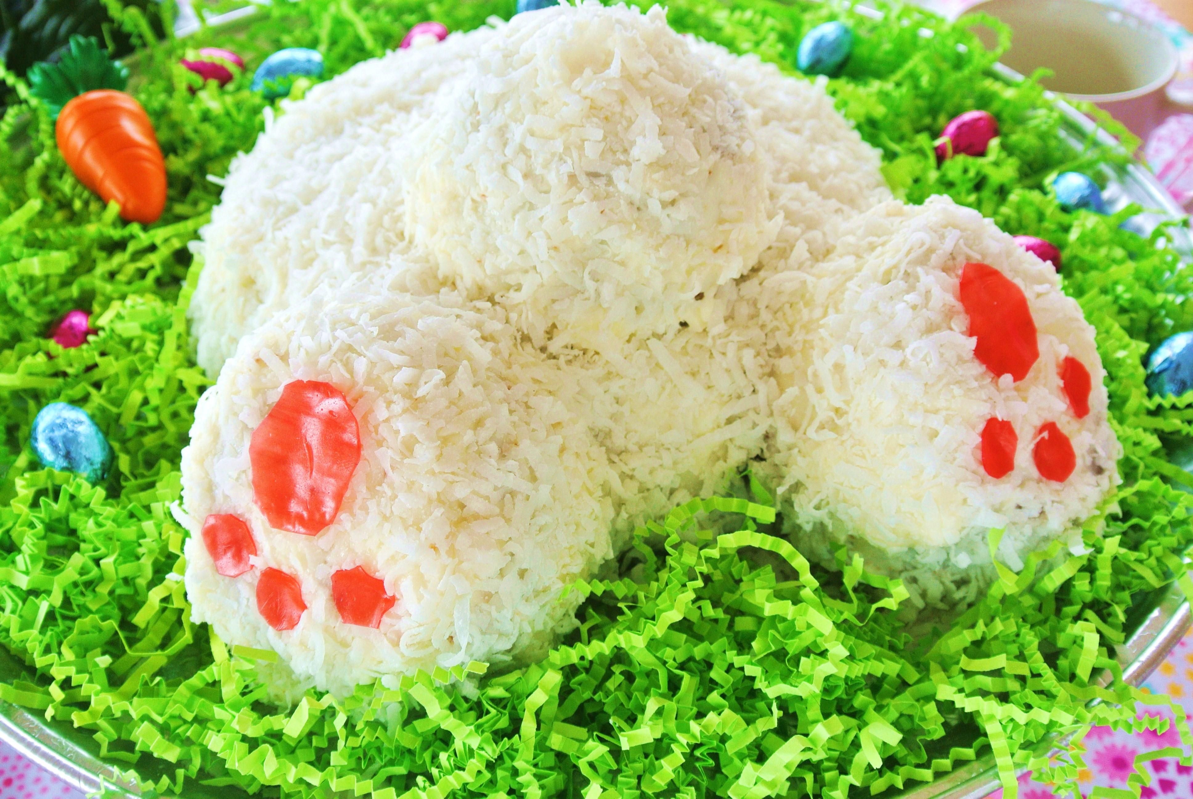 Easter Carrot Cake  Easter Bunny Butt Carrot Cake No Plate Like Home