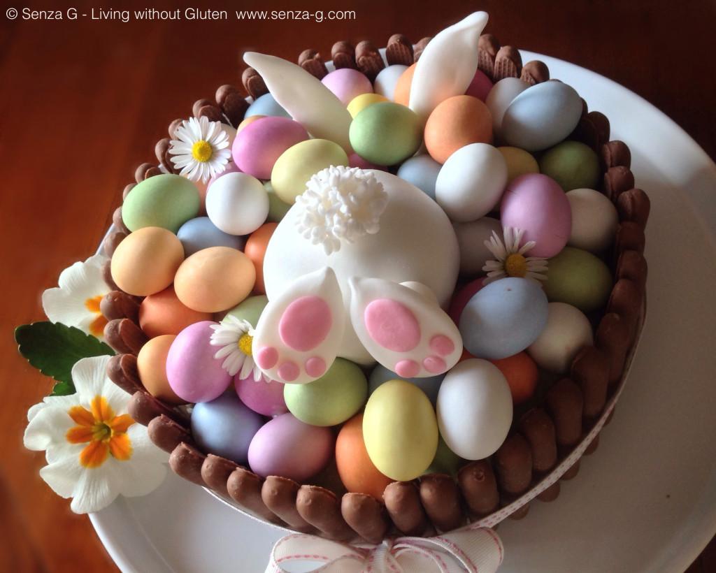 Easter Carrot Cake  Easter Bunny Carrot Cake with Pecans & Raisins Senza G