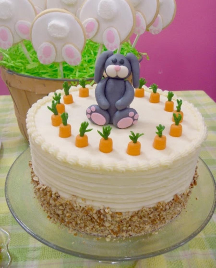 Easter Carrot Cake  Easter Carrot Cake Decorating Ideas