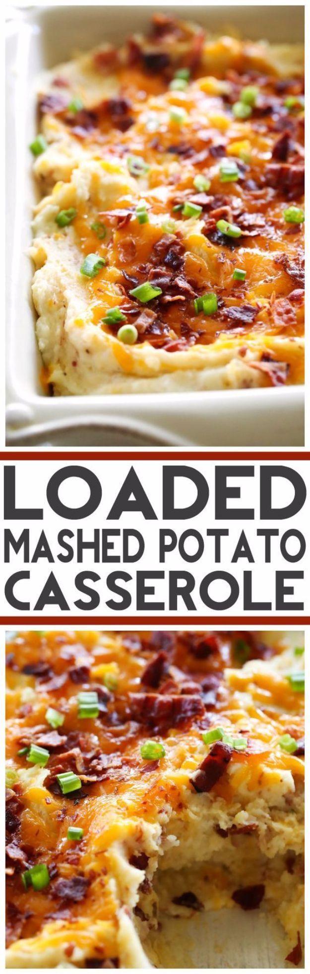 Easter Casseroles For Dinner  Best Easter Dinner Recipes Loaded Mashed Potato